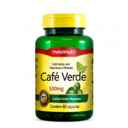 Café Verde 500mg + Colina-Cromo-Magnésio (60 caps)