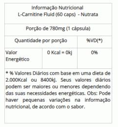 L-Carnitine Fluid (60 Caps)