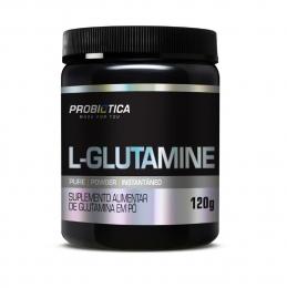 L-Glutamine 120 G - ProbióticaL-Glutamina em pó solúvel